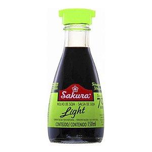 MOLHO DE SOJA LIGHT 150ML SAKURA