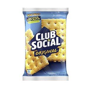 BISCOITO SALGADO CLUB SOCIAL ORIGINAL 144G PACOTE