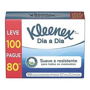 LENÇO DE PAPEL KLEENEX CAIXA C/ 60 UNIDADES
