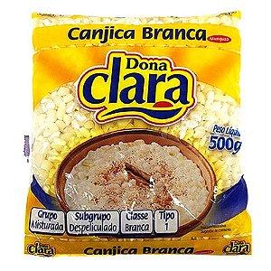 CANJICA BRANCA DE MILHO DONA CLARA 500G PACOTE