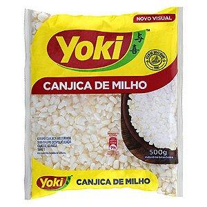 CANJICA BRANCA DE MILHO YOKI 500G PACOTE