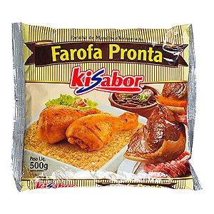 FAROFA PRONTA TEMPERADA KISABOR 500G PACOTE