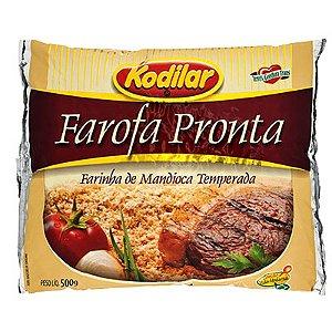 FAROFA PRONTA TEMPERADA KODILAR 500G PACOTE