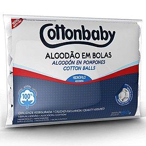 ALGODÃO EM BOLAS 50G COTTONBABY
