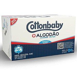 ALGODÃO ROLO 50G COTTONBABY