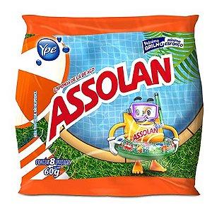 ESPONJA DE AÇO ASSOLAN PACOTE C/ 8 UN 60G