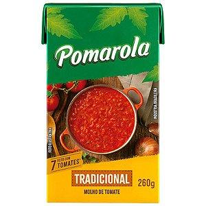 MOLHO DE TOMATE TRADICIONAL 260G POMAROLA