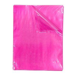 ENVELOPE PLASTICO DAC ROSA C/4 FUROS UNI