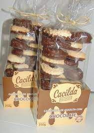 Cacilda Casadinho com Chocolate Sabor Araruta 180g