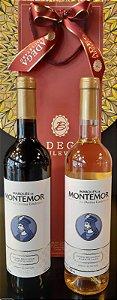 Kit Montemor Tinto & Branco 750ml (P/Presente)