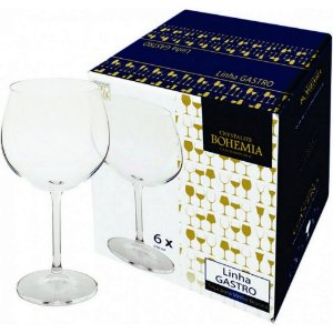 Jogo de Taça Vinho Tinto Bohemia 570Ml