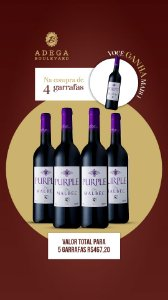 Purple Malbec 750ml 4+1