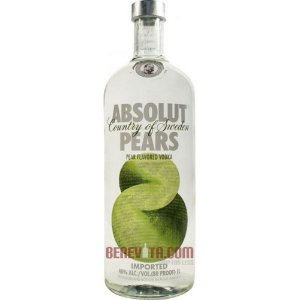 Absolut  Pears Vodka 1L