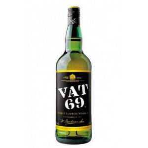 Vat 69 Blended Scotch  1L