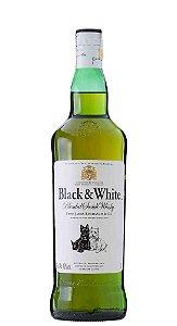 Black & White Blended Scotch Whisky  1L