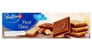 Bahlsen First Class  Wafers Milk  125g