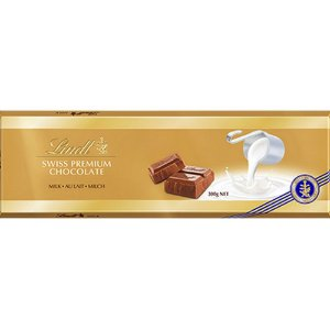 Lindt  Swiss Chocolate Premium Milk  300g