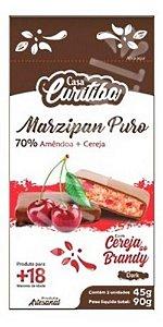 Marzipan Puro  70% Amêndoa  & Cereja Dark 90g