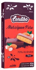 Marzipan Puro 70% Amêndoa  Dark  90g