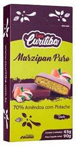 Marzipan Puro 70% Amêndoas & Pistache  90g