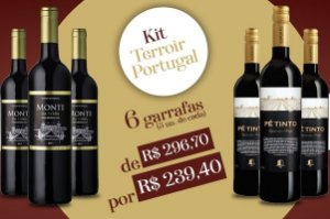Kit Terroir Portugal 06 Unidades