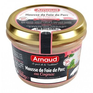 Arnaud Patê de Figado Suíno Com Conhaque  180g