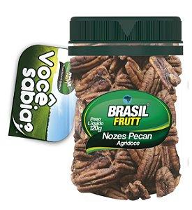 Nozes Pecan Agridoce Brasil Frutt 120 g