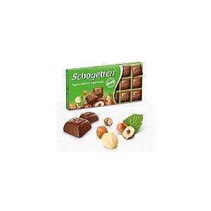 Chocolate ao Leite dos Alpes com Avelãs Schogetten 100g