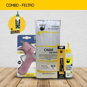 COMBO FELTRO + BRINDE