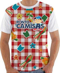 Kit/10 Camisas personalizadas sublimação total Frente