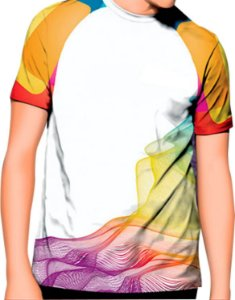 Kit/10 Camisas personalizadas sublimação total Frente/costa/manga