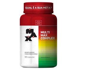 MULTIMAX COMPLEX, Multivitamínico, Max Titanium, 90 Caps.