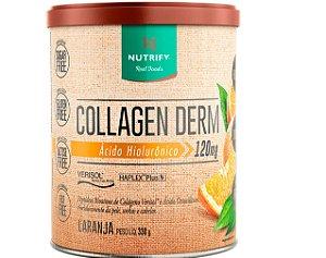 COLLAGEN DERM, Colageno com Ácido Hialurônico, Nutrify, 330g
