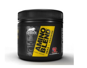 AMINO BLEND, Aminoácidos, LEADER NUTRITION, 155G