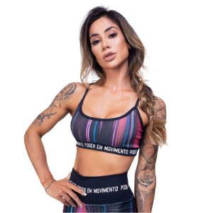 Top Fitness Light Uv 50+ - Preto