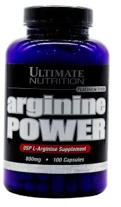 ARGININE POWER 800mg 100 caps - Arginina ULTIMATE NUTRITION
