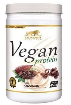 VEGAN PROTEIN - Proteína Vegana 450g -  Leader Nutrition