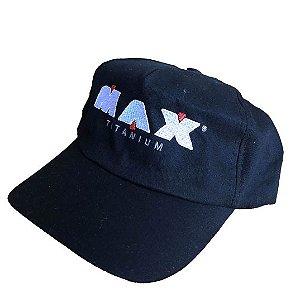 Boné Preto - Max Titanium