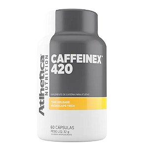 CAFFEINEX 420, Athletica Nutrition, 60 caps. de 420mg