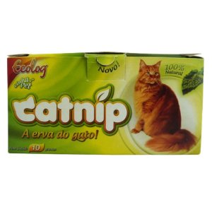 CATNIP, Erva do Gato, Ecolog, 10g