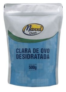 CLARA DE OVO - Albumina natural  (500g) - Maxxi Ovos