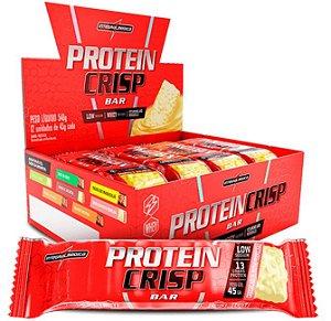 Crisp Bar (caixa com 12 barras proteica) - IntegralMédica