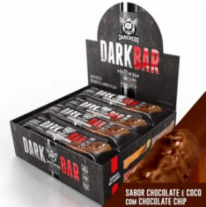 DARK BAR - Barra Proteica (caixa com 8 unid.) - DARKNESS darkbar