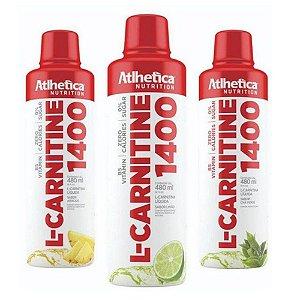 L-CARNITINE 1400, L-carnitina, Atlhetica Nutrition, 480 ml