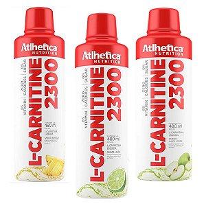 L-CARNITINE 2300, L-carnitina, Atlhetica Nutrition, 480 ml
