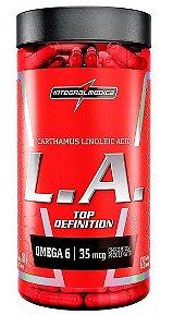 L.A. Top Definition cártamo com Cromo (120 caps) - Integralmédica linoleic acid ácido linoleico