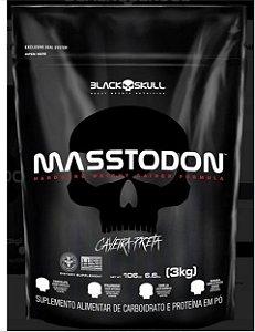 MASSTODON 3KG - Hipercalórico Massa BLACK SKULL