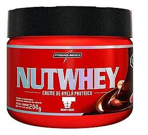 NUTWHEY (200g) - creme de avelã Integralmedica nut whey
