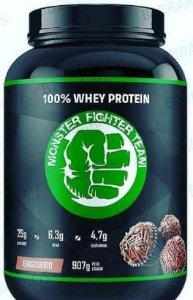 Whey Gourmet Monster Fighter (907g) Concentrado -  Monster Fighter