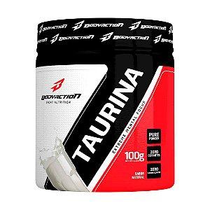 Taurina 100g - Energético pré treino Bodyaction